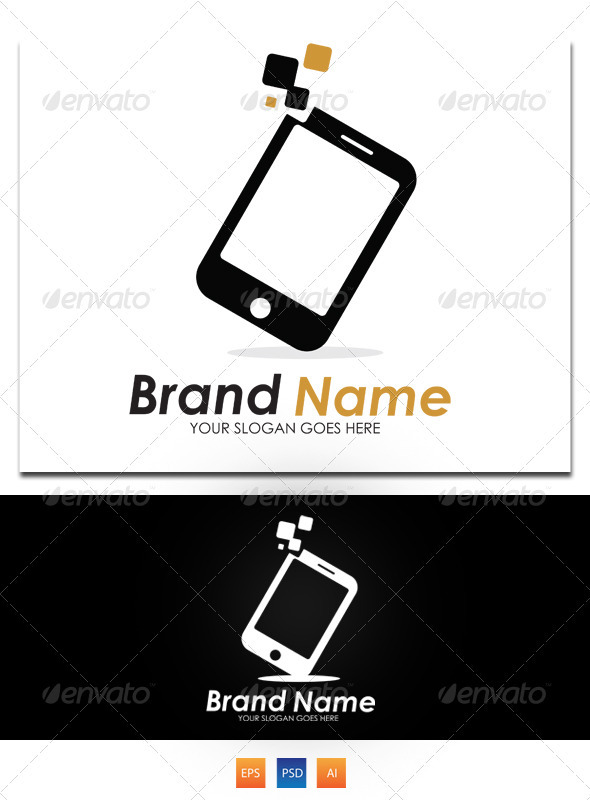 Mobile Advertising Logo - Objects Logo Templates