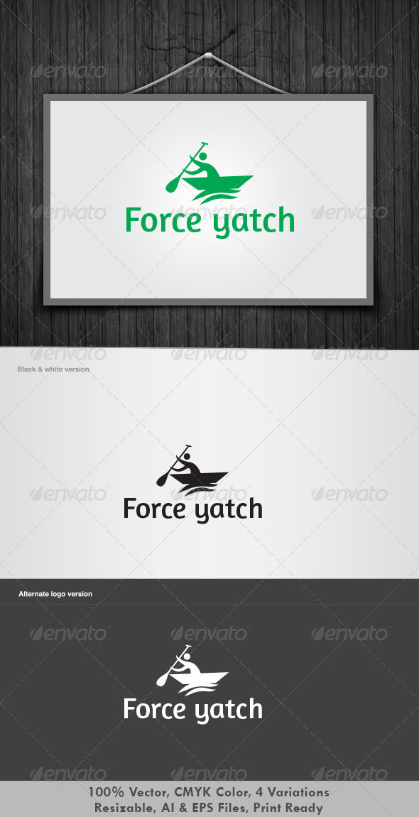 Force Yatch - Objects Logo Templates