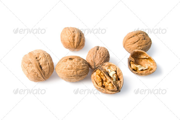 Walnuts. - Stock Photo - Images