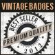 Vintage Badges - GraphicRiver Item for Sale