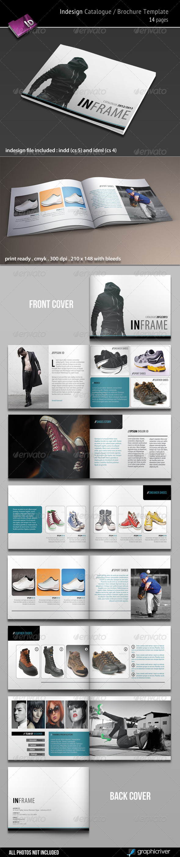 Indesign Catalogue / Brochure Template - Catalogs Brochures