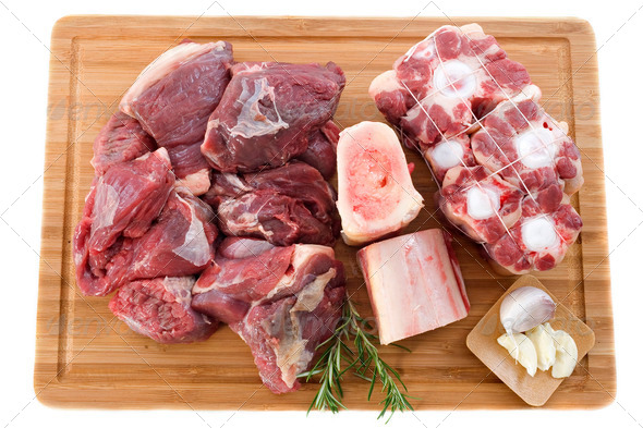 variety of beef meat - Stock Photo - Images