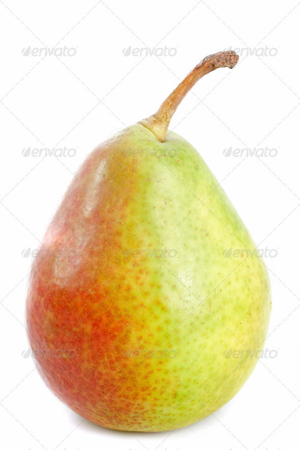 comice pear - Stock Photo - Images