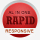 Rapid – Responsive HTML Template Nulled