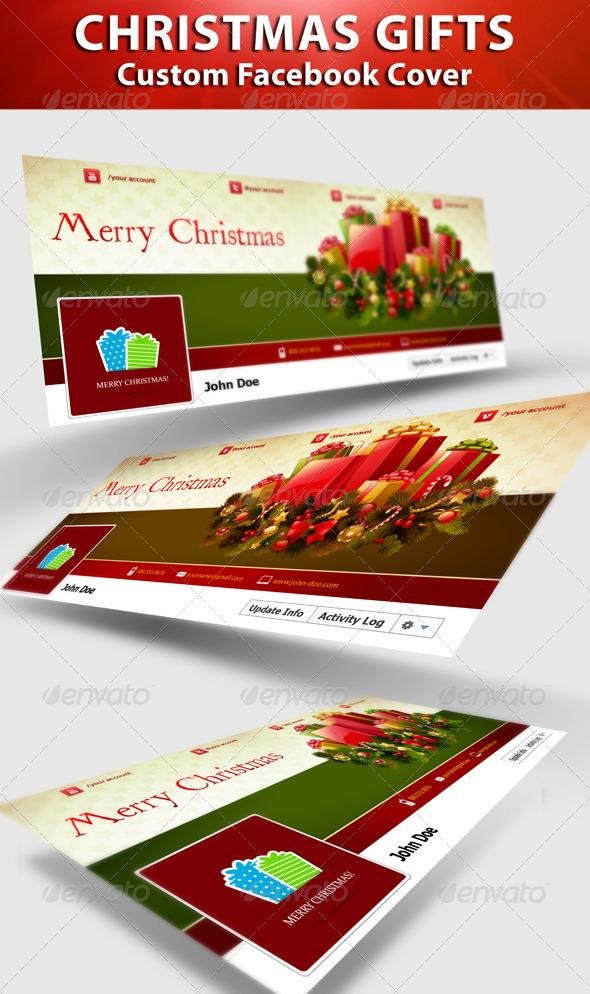 Christmas Gifts FB Timeline  - Facebook Timeline Covers Social Media