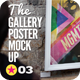 Poster Exhibition Gallery Mock-Up - GraphicRiver Item for Sale
