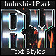 Industrial Pack - Text Styles - GraphicRiver Item for Sale
