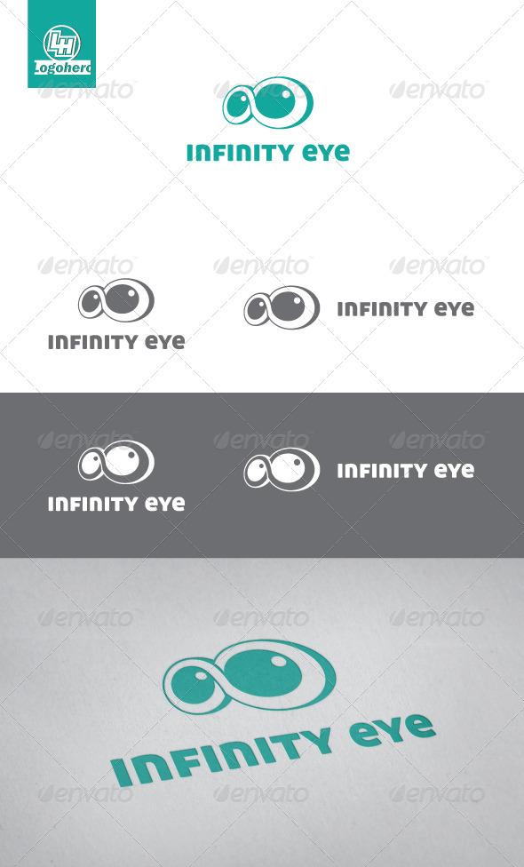 Infinity Eye Logo Template - Symbols Logo Templates