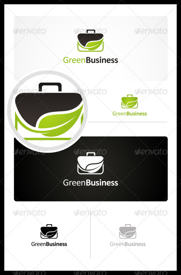 Green Business - Symbols Logo Templates