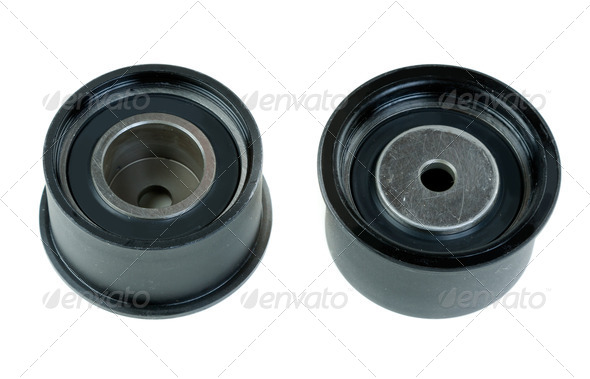Two timing pulley - Stock Photo - Images