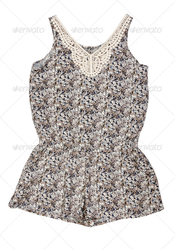 Easy summer women's clothing - Stock Photo - Images
