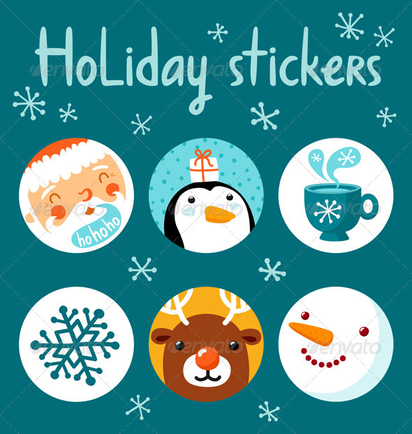Holiday Stickers - Seasons/Holidays Conceptual