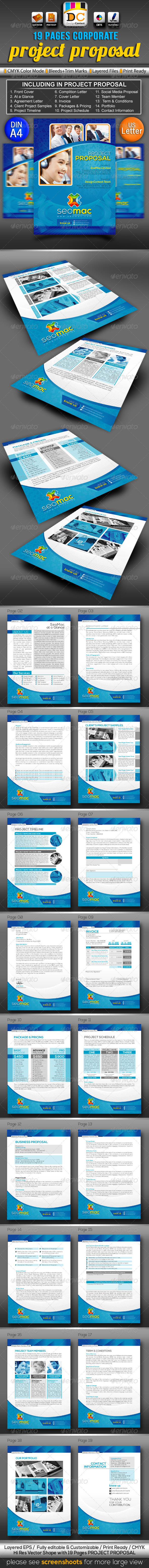 SeoMac Business/Project Proposal  - Proposals & Invoices Stationery