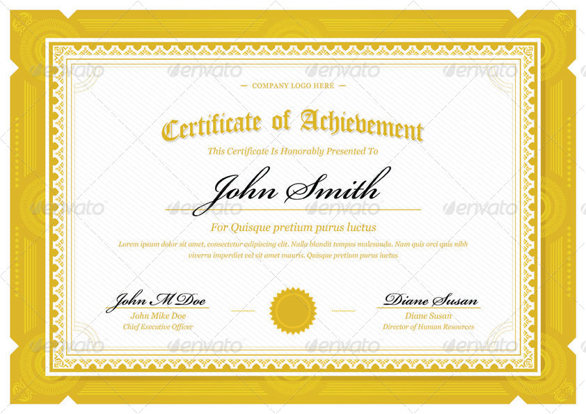 Modern classy diploma award certificate by bnrcreativelab modern classy diploma award certificate yelopaper Images