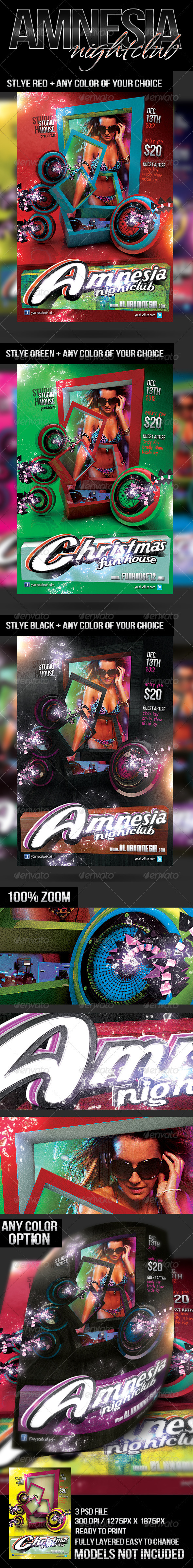 Amnesia Nightclub   - Clubs & Parties Events