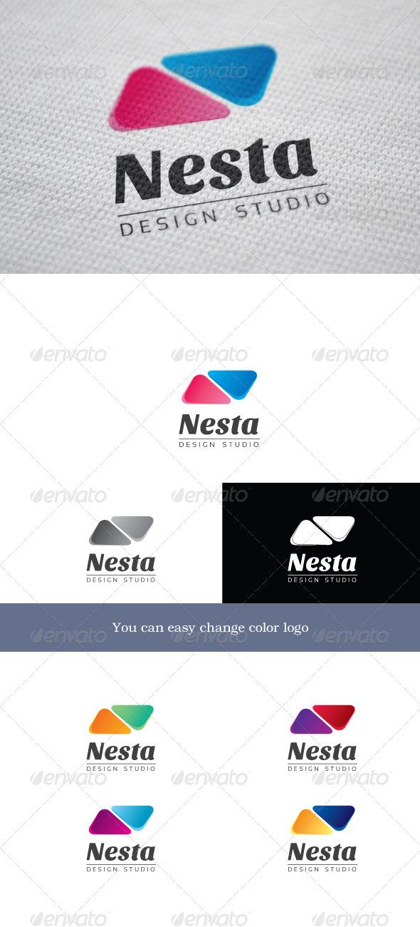 Nesta - Letters Logo Templates