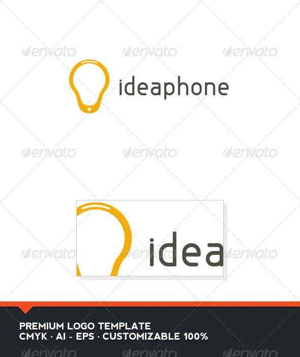 Idea Phone Logo Template - Objects Logo Templates