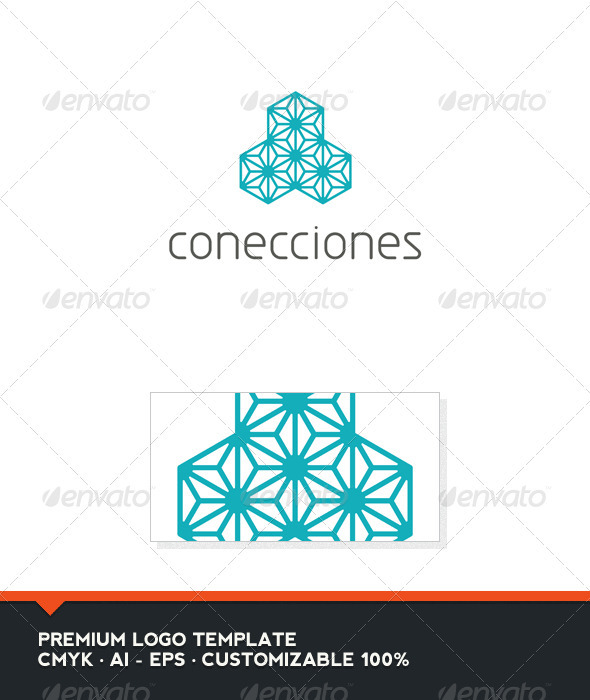 Conecciones Logo Template - Abstract Logo Templates