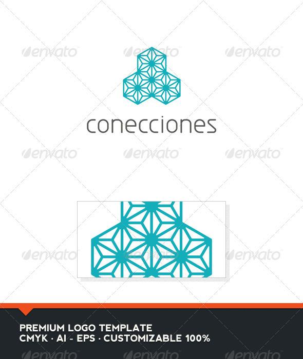 Conecciones Logo Template - Abstract Logo Templates