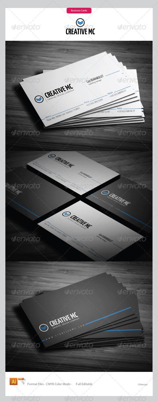 Corporate Business Cards 193 - Corporate Business Cards