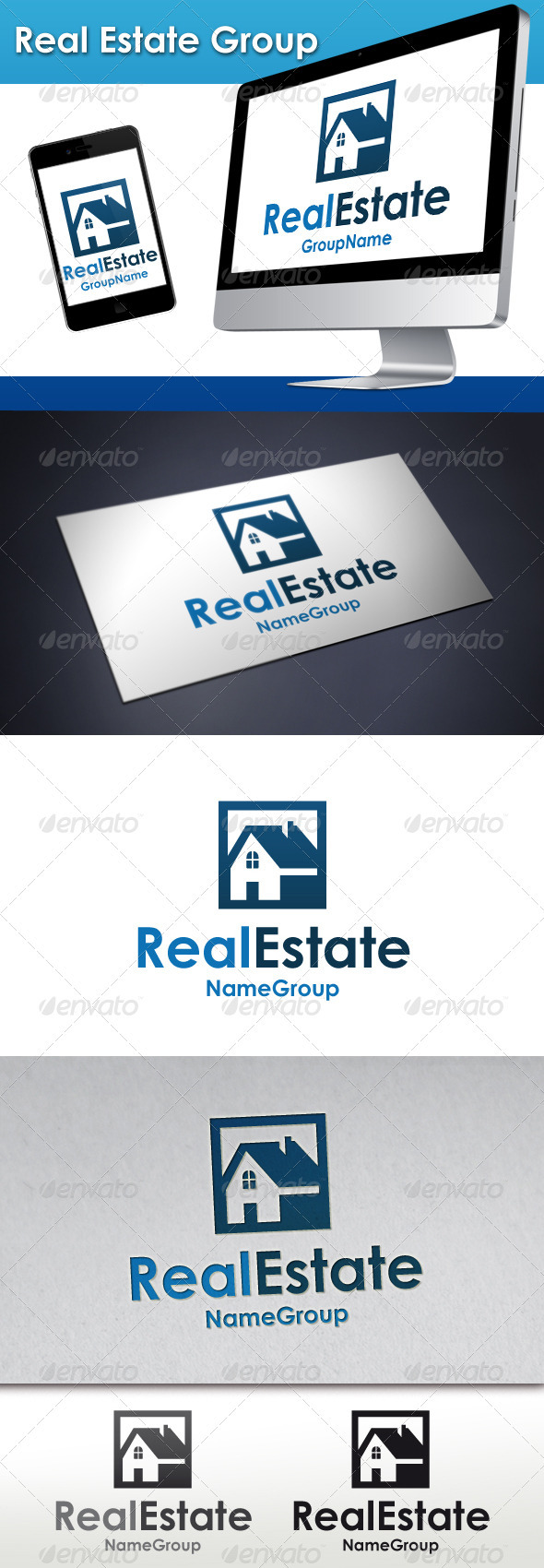 Real Estate Group Logo - Buildings Logo Templates