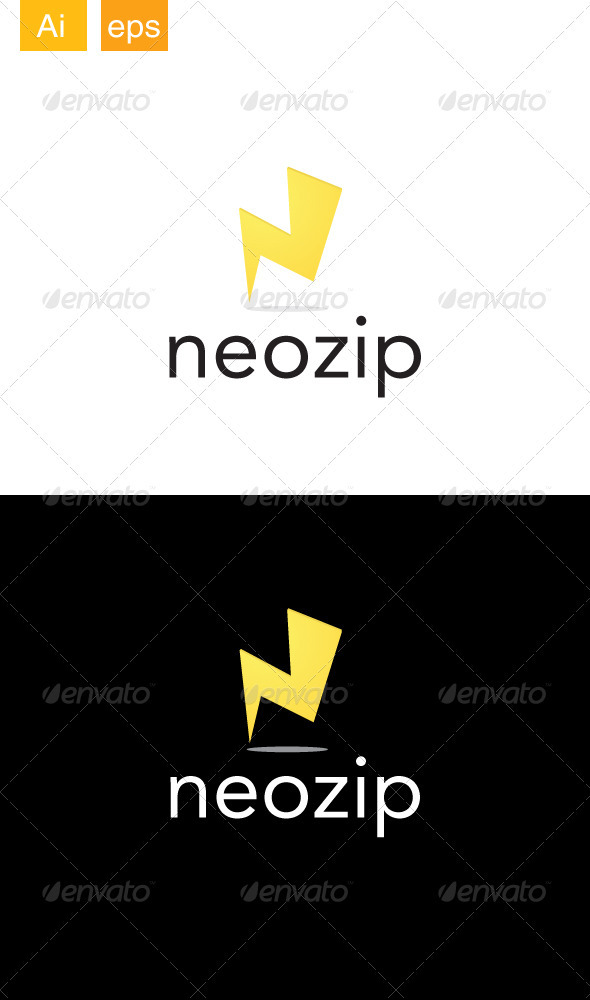 Neozip Logo - Letters Logo Templates