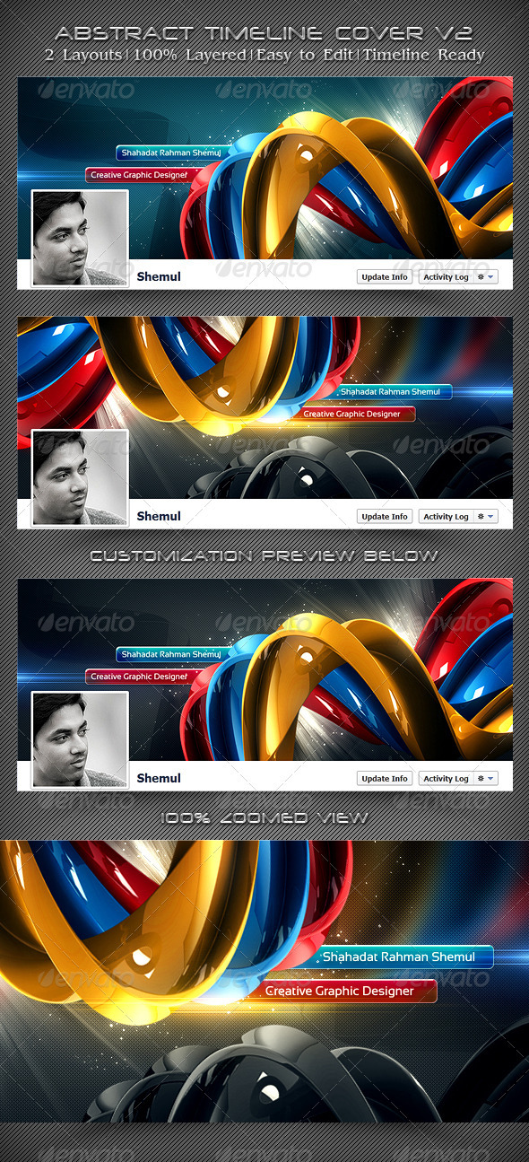 Abstract Timeline Cover V2 - Facebook Timeline Covers Social Media