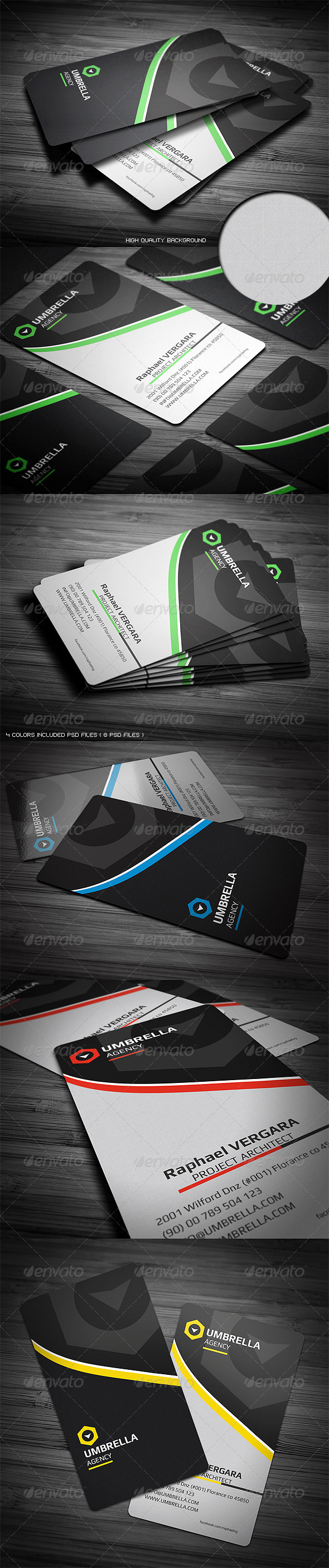 Sleek Corporate Business Card - Corporate Business Cards