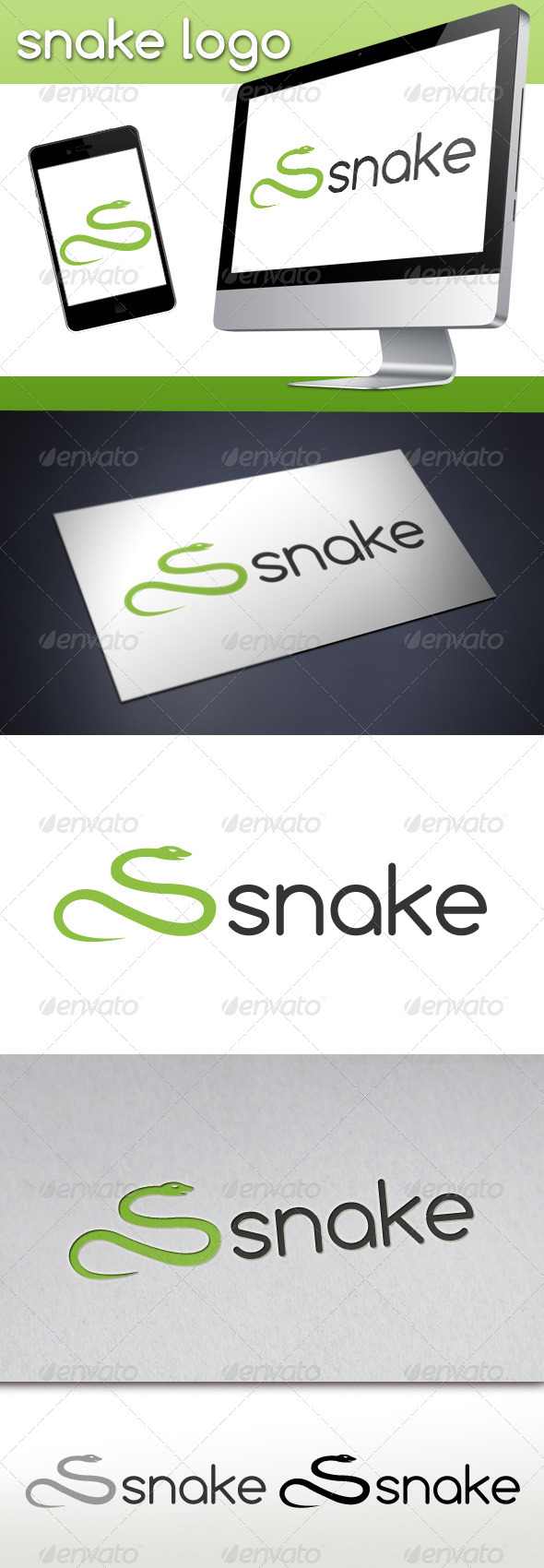 Snake Logo - Animals Logo Templates