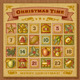 Vintage Christmas Advent Calendar - GraphicRiver Item for Sale