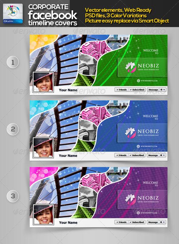 BeoBiz Corporate Facebook Timeline Cover - Facebook Timeline Covers Social Media