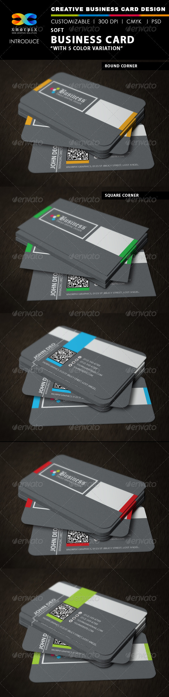 Soft Business Card - Corporate Business Cards