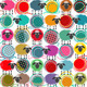 Colorful Seamless Sheep and Yarn Balls Pattern - GraphicRiver Item for Sale