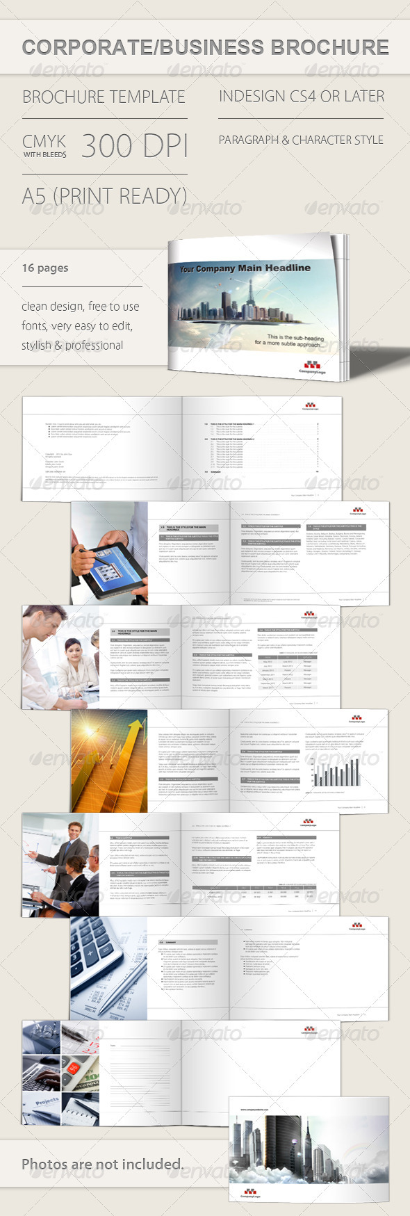 Corporate and Business Brochure - Corporate Brochures