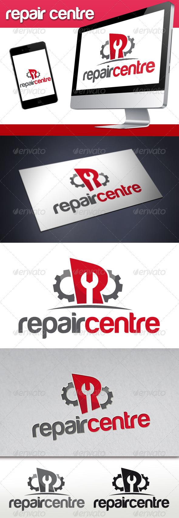 Repair Service Logo - Letters Logo Templates