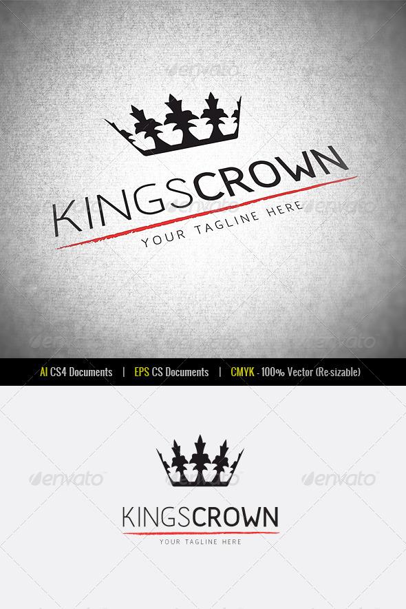 KingsCrown | Logo Template - Symbols Logo Templates
