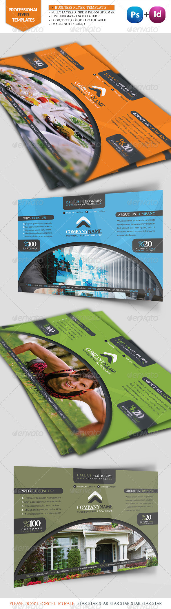 Business Flyer Template - Commerce Flyers