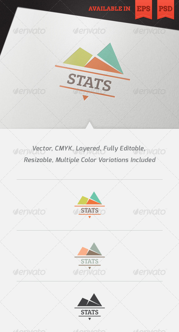Statistics Logo Template - Symbols Logo Templates