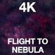 Flight To Nebula 4K - VideoHive Item for Sale