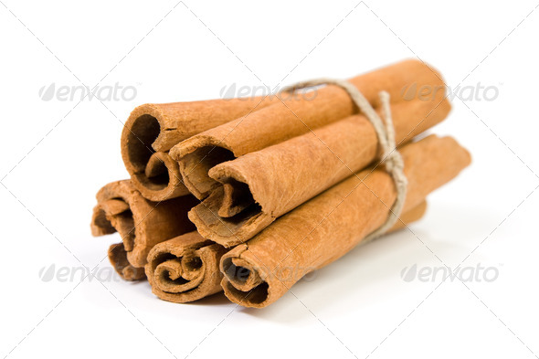 Cinnamon sticks. - Stock Photo - Images