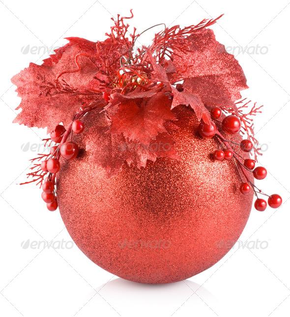 Christmas ball - Stock Photo - Images
