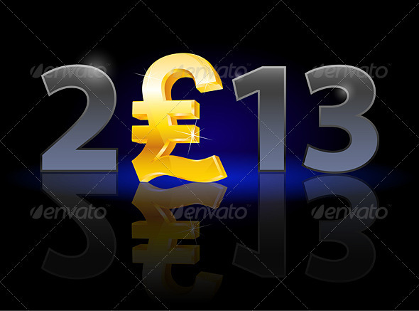 Twenty Thirteen Year - Money - Miscellaneous Vectors