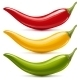 Hot Chilli Pepper Vector Set - GraphicRiver Item for Sale