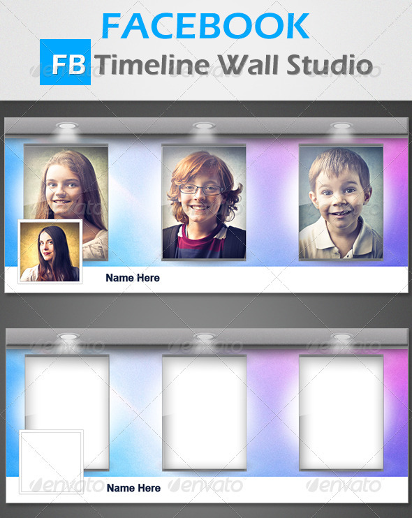 FB Timeline Wall Studio - Facebook Timeline Covers Social Media