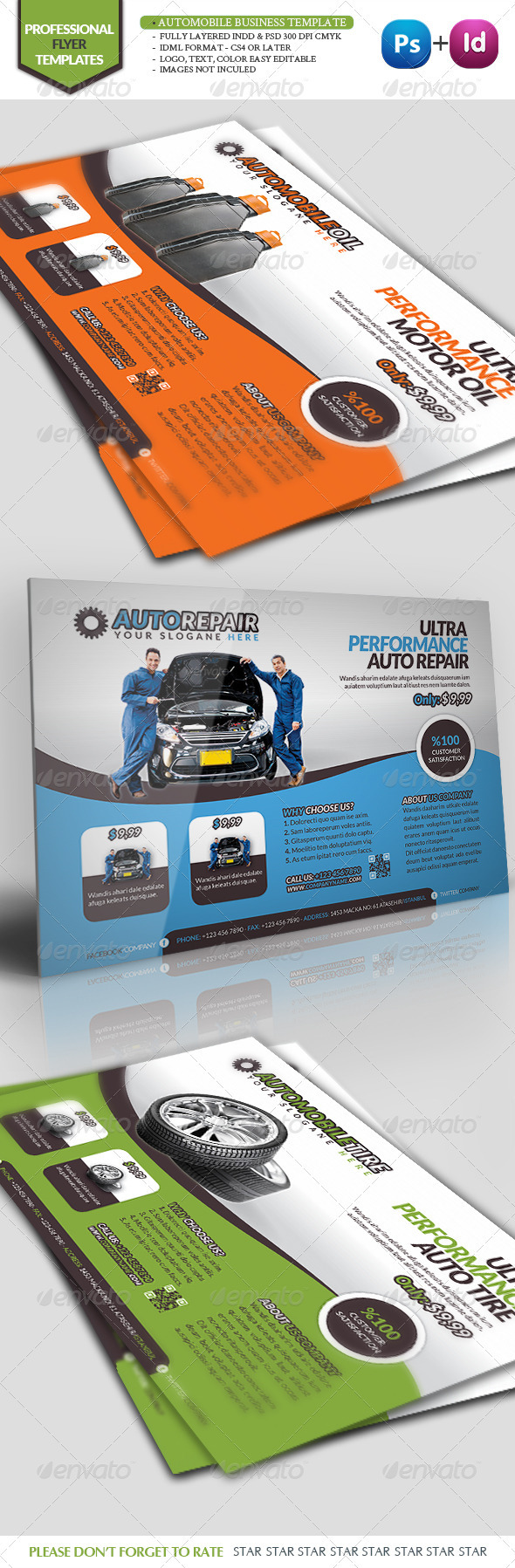 Automobile Business Template - Commerce Flyers