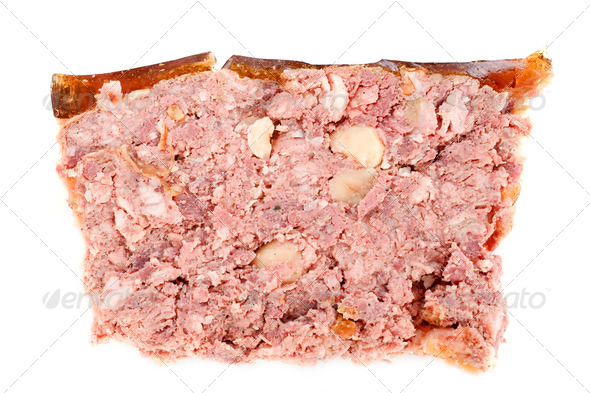 pate with hazelnuts - Stock Photo - Images