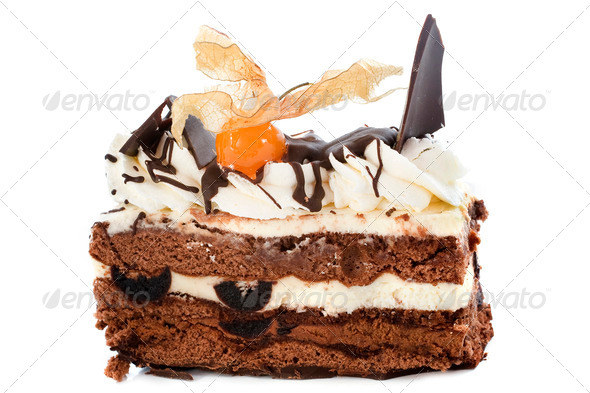 black forest cake - Stock Photo - Images