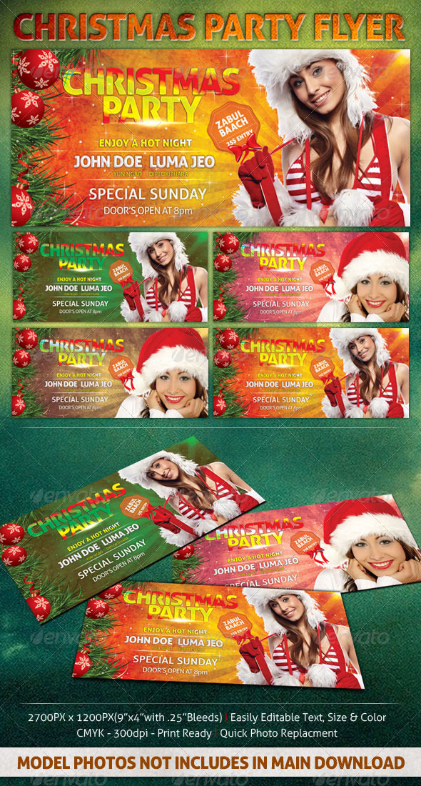 Christmas Party Flyer - Holidays Events