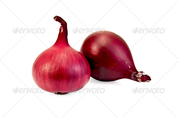 Onion purple - Stock Photo - Images