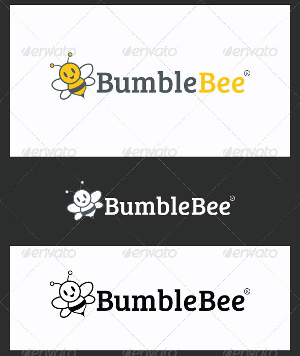 BumbleBee Logo Template - Animals Logo Templates